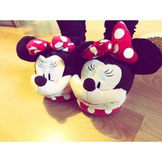 There is 1 tip to buy slippers, house shoes, minnie mouse, minnie mouse slippers. Minnie Mouse Slippers, Minnie Mouse Bedding, Shark Shoes, Pink And Gold Decorations, Hello Kitty, Disney Queens, My Christmas Wish List, Cute Slippers, Mickey Y Minnie