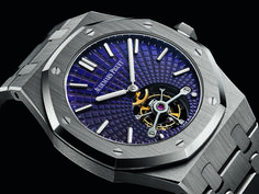 The Audemars Piguet Royal Oak Tourbillon Extra-Thin with Tapisserie Evolutive Dials