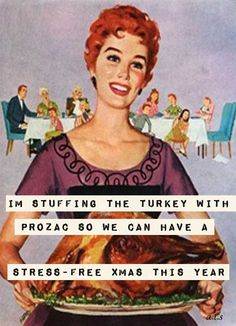 This should be mandatory for all family functions. Retro Humor, Vintage Humor, Mantra, Belly Laughs, All Family, Christmas Humor, Christmas Quotes, Vintage Christmas, Look At You