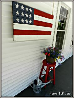 ~ rooms FOR rent ~: DIY Pallet American Flag