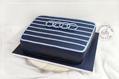 Tort urodzinowy dla chłopaka / mężczyzny - grill Audi, więcej na stronie bloga: www.pieceacake.pl