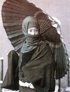 Japanese woman - 19th century