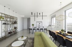 Penthouse in Holon / OMY design