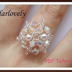 Tutorials | JewelryLessons.com  (I think I would put a pearl in the centre)