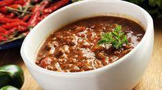 Chili con carne e fagioli ricetta originale messicana stufato di carne e fagioli
