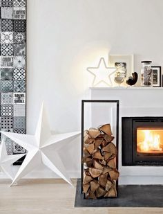 A home north of Copenhagen that oozes purity and relaxation with their Christmas decorations Nordic style.