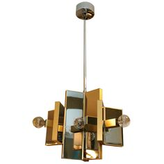 Fixture By Sciolari 6 Lights | From a unique collection of antique and modern chandeliers and pendants  at http://www.1stdibs.com/furniture/lighting/chandeliers-pendant-lights/