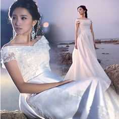 sexy mermaid lace flowers court train off the shoulder wedding dresses 2015 summer dresses white vestidos de noiva
