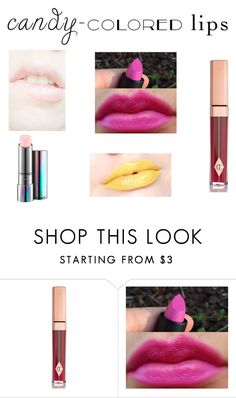 """Untitled #1764"" by andreea0 ❤ liked on Polyvore featuring beauty, Charlotte Tilbury, Inglot and MAC Cosmetics"