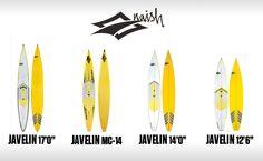 Javelin MC 14′ gamme Touring et Racing de chez Naish Surfing sur sup-passion.com