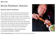 Mr. Rococo is a 3x winner of OK Gazette Best Chef award, including the last 2 years.