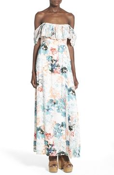 Lovers + Friends 'Anemone' Floral Print Maxi Dress