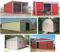 These are neat mini pole barns perfect for a little shop for Kit garage 24x40