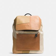 This spring, Coach reinvents a great American icon as the ultimate bag for modern nomads. A quintessentially Coach silhouette, this hands-free rucksack has been elevated from schoolyard staple to street-smart essential with the highest quality leathers an