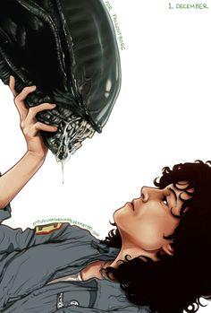Aliens - Kumagorochan.deviantart.com
