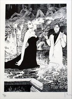 La-Dolce-Vita---(Fellini)-(Milo Manara)