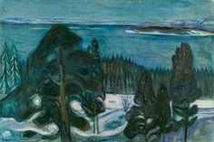 Winter Night: Edvard Munch, 1900-01.