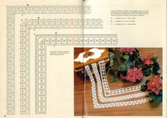 World crochet: Crocheted lace 12