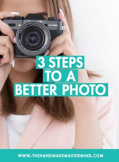 3 steps to a better photo. Product photos tips and tricks. Product photography tips