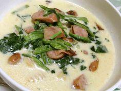 ダイエット★糖質制限★満腹簡単豆乳スープの画像