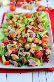 Kuchnia szeroko otwarta: Fit! Bomba witamin. Sałatka z tuńczykiem i awokado Ketogenic Recipes, Diet Recipes, Healthy Recipes, Orzo, Avocado, Feta, Food Inspiration, Salad Recipes, Salads