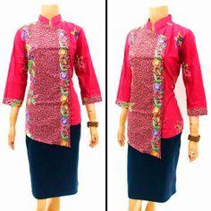 Model Blouse Batik Motif Encim Call Order : 085-959-844-222, 087-835-218-426 Pin BB 23BE5500 Model Blouse Batik Motif Encim  Harga: Rp.95.000.-/pcs | stock 5 pcs  ukuran: Allsize