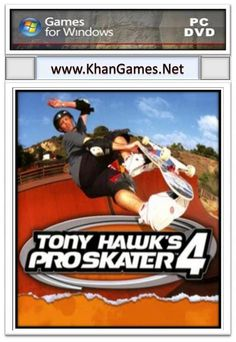 Tony Hawk's Pro Skater 4 Game Size: 160 MB System Requirements Operating System: Windows Xp,7,Vista,8 CPU: 800 MHz Ram: 256 MB Video Memory: 32 MB