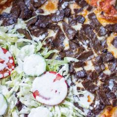 Stor pølse pizza porno