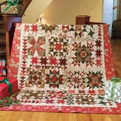 A SPARKLING SAMPLER Free scrappy sampler quilt pattern Designed by LYNN LISTER With 17 different block patterns and assorted setting pieces, this puzzle quilt is a piecing challenge you'll thoroughly enjoy. Featured in the May/June 2016 issue of McCall's Quilting magazine.