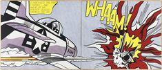 Whaam 1963 by Roy Lichtenstein