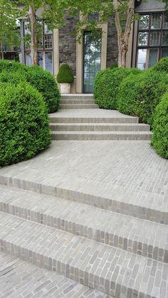 Stairs Landscape Design Patio 31 Ideas For 2019 Design Patio, Modern Garden Design, Contemporary Garden, Garden Paving, Garden Steps, Landscape Steps, Landscape Design, Patio Patterns Ideas, Pattern Ideas