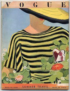 Vogue USA 1934 deco cover