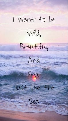 Oh yes!!!! Just like the sea!! It's my most favorite place of all!!