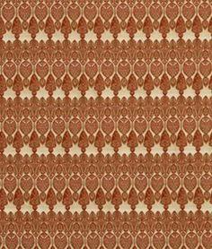 Robert Allen Contract Amphora Mandarin Fabric - $37.1   onlinefabricstore.net