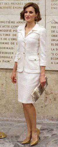 12 June 2015 - Queen Letizia appointed UN's Special Ambassador for Nutrition. Click to read more