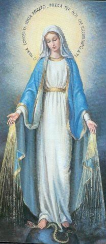 Our Lady of Grace, pray for us. Jesus Mother, Blessed Mother Mary, Blessed Virgin Mary, Mama Mary, Catholic Art, Catholic Saints, Religious Images, Religious Art, Immaculée Conception