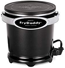 Presto FryDaddy Deep Fryer Kitchen Electric Non Stick Easy Clean Oil Fried Foods Home Deep Fryer, Best Deep Fryer, Best Fish Taco Recipe, Hush Puppies Recipe, Electric Deep Fryer, Crispy French Fries, Specialty Appliances, Small Appliances, Kitchen Appliances