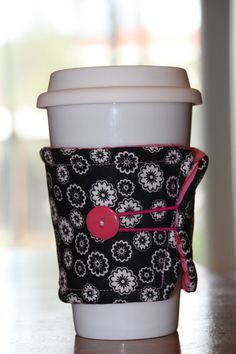 Reusable Coffee Cup Cozy Sleeve by pokriotsproducts on Etsy, $6.00