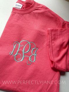 $21.50!! Monogrammed Pocket Tshirts | Monogram Tshirt | Comfort Colors Monogram | Monogrammed Faux Pocket | Personalized Sweatshirt Pullover | Monogram Sweatshirt | Personalized Gifts Lexington Kentucky