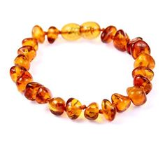 Fashion Jewelry Genuine Amber Bracelet/anklet Child-adult Knotted Beads Sizes 13-25 Cm Earrings