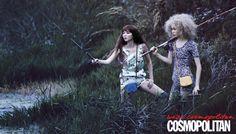 낚시 여행을 떠난 소녀들, Cosmopolitan Korea June 2012