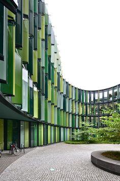 A&EB 28. Sauerbruch Hutton > Cologne Oval Offices, Cologne | HIC Arquitectura