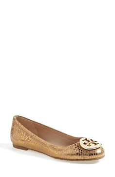 Tory Burch 'Reva' Ballerina Flat (Women) available at #Nordstrom