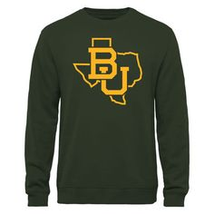 Baylor Bears Tradition State Pullover Sweatshirt - Green