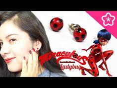 Miraculous LadyBug Aretes Catarina de fantasia - DecoAndCrafts - YouTube
