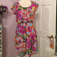 Well a lot of my daughters clothes LOL Beautiful lined dress made in the USA small Dinabe? Dresses