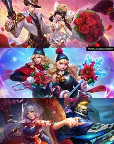 mobile legends new hero mobile legends official website Video Game Characters, Anime Characters, Miya Mobile Legends, Adventure Time Wallpaper, The Legend Of Heroes, Mobile Legend Wallpaper, Fantasy Girl, Bang Bang, Best Couple