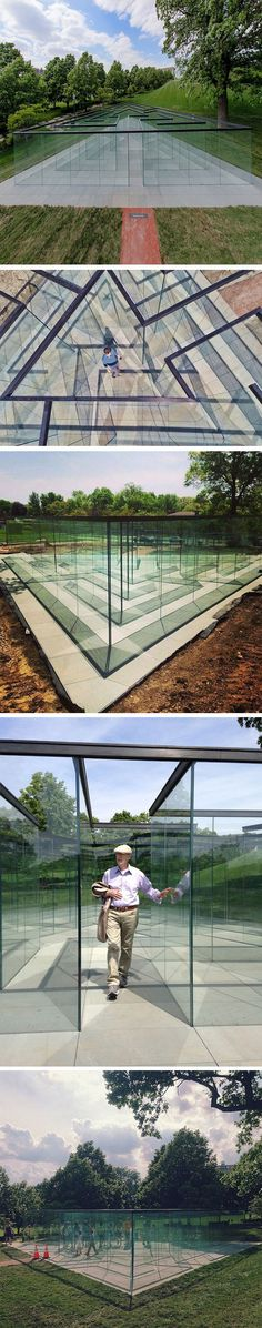 A Glass Maze @Erin B Strange When we go on our road trip! If this I in the US