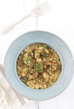 Epicurean Mom: Grilled Chimichurri Shrimp Recipe