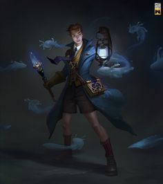 ArtStation - The practice mage, terry wei Fantasy Character Design, Character Design Inspiration, Character Concept, Character Art, Concept Art, Dnd Characters, Fantasy Characters, High Fantasy, Fantasy Art